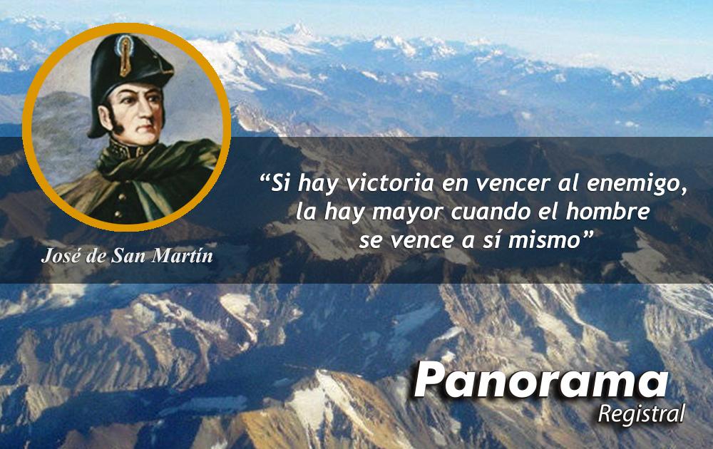 17 de agosto Aniversario del deceso del General San Martín