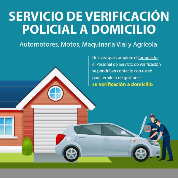 Verificación Policial a Domicilio