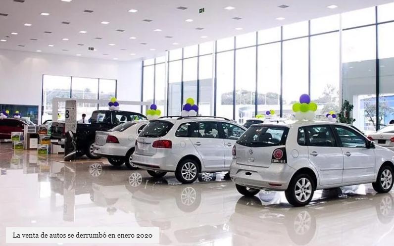 """Las ventas de 0km se """"derrumbaron"""" un 25% en enero"""