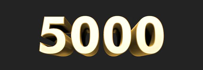 5.000 Reseñas