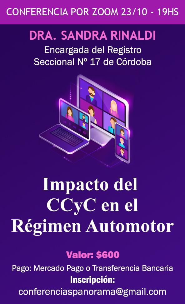 Impacto del CCyC en el Régimen Aautomotor