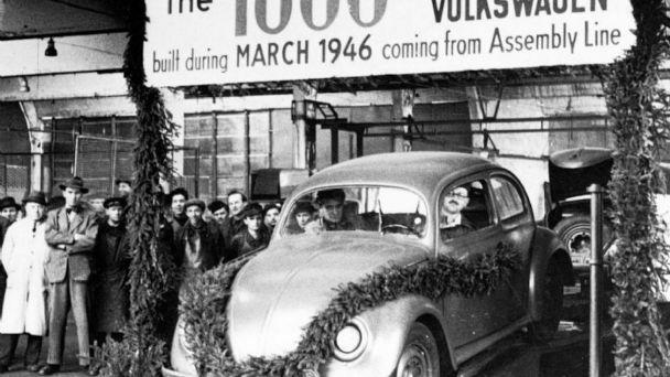 Hace 75 años comenzaba a fabricarse en serie el Volkswagen Escarabajo
