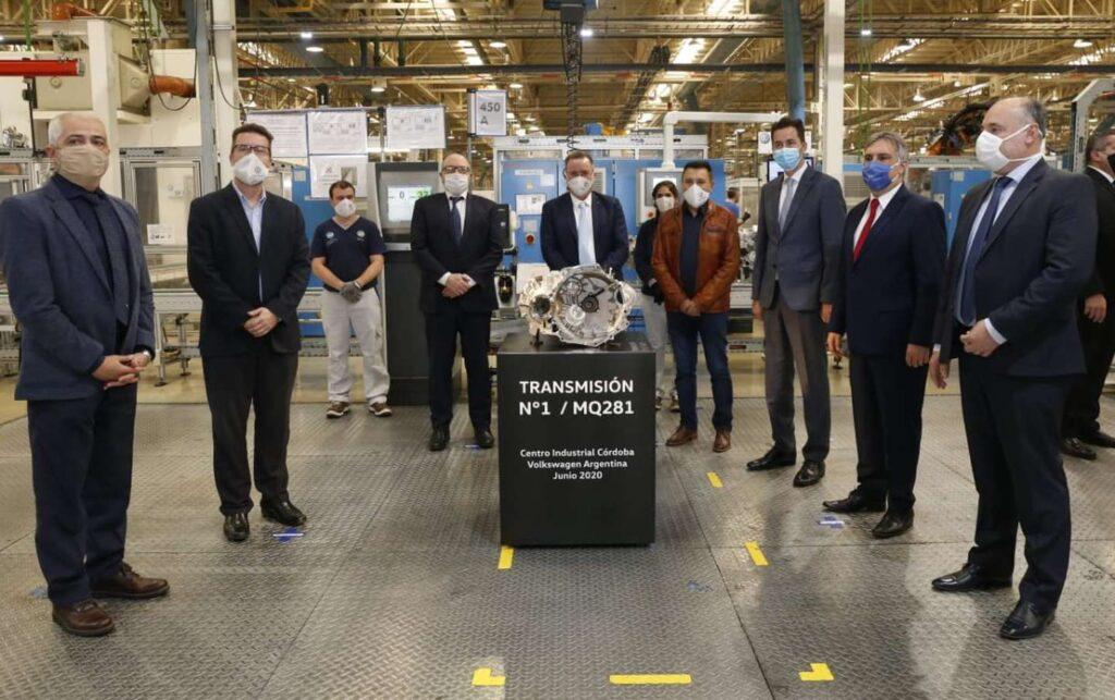Volkswagen Argentina comenzó a exportar cajas
